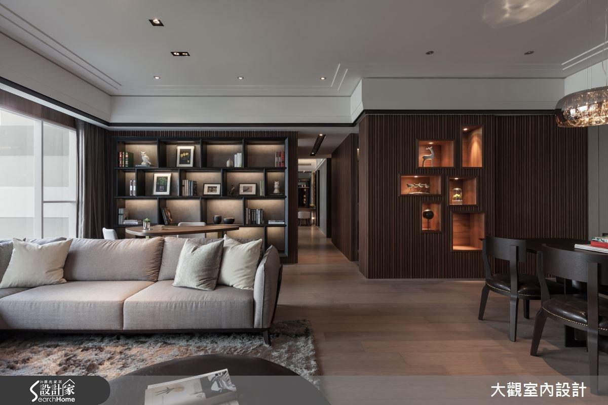 36坪預售屋_現代風客廳案例圖片_大觀室內設計工程有限公司_大觀_26之4