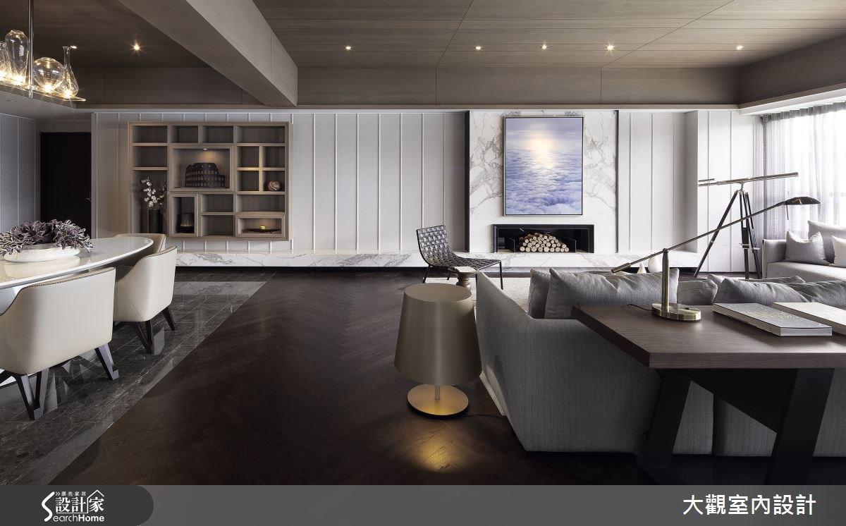 39坪預售屋_休閒風客廳案例圖片_大觀室內設計工程有限公司_大觀_27之5