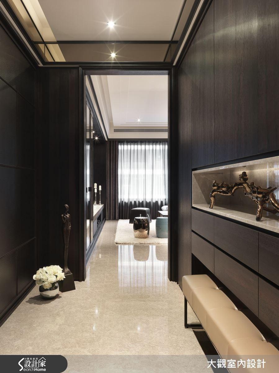 40坪新成屋(5年以下)_現代風走廊案例圖片_大觀室內設計工程有限公司_大觀_28之1