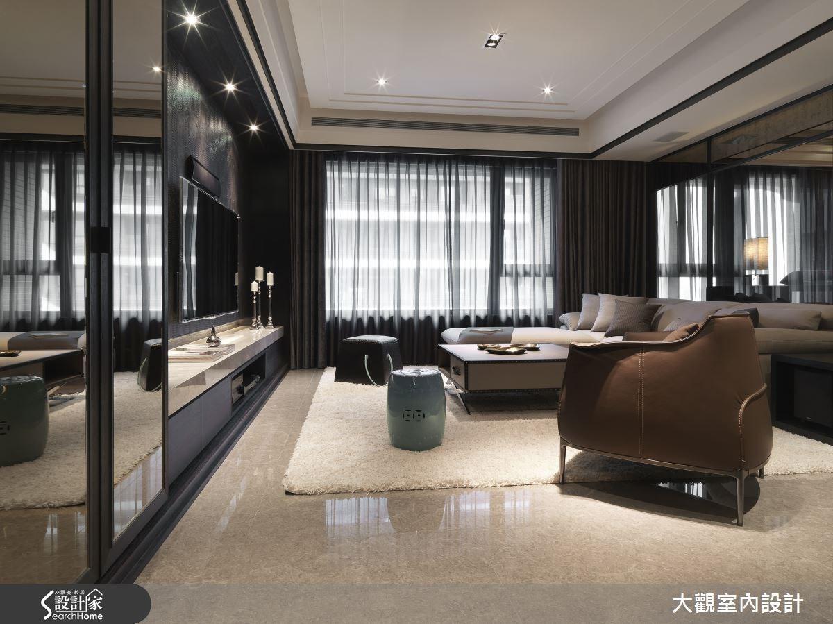 40坪新成屋(5年以下)_現代風客廳案例圖片_大觀室內設計工程有限公司_大觀_28之2