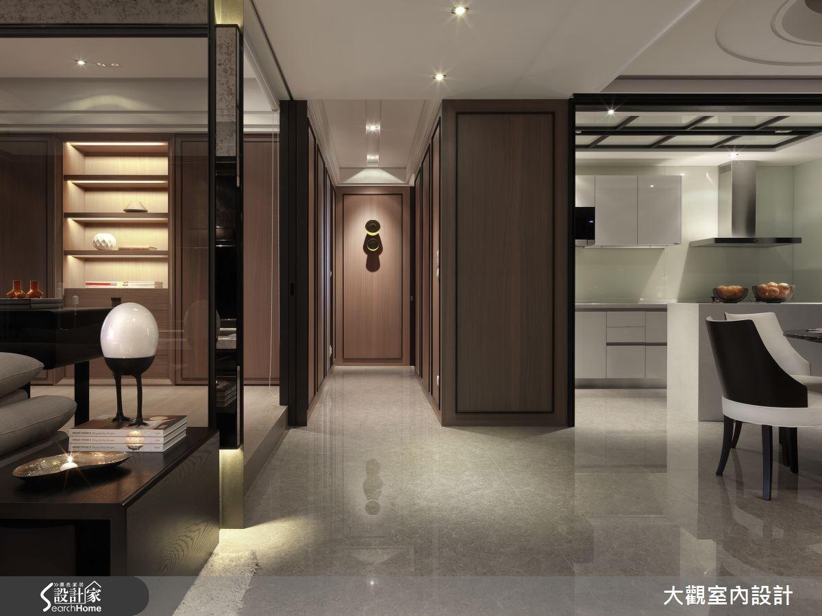 40坪新成屋(5年以下)_現代風客廳案例圖片_大觀室內設計工程有限公司_大觀_28之4