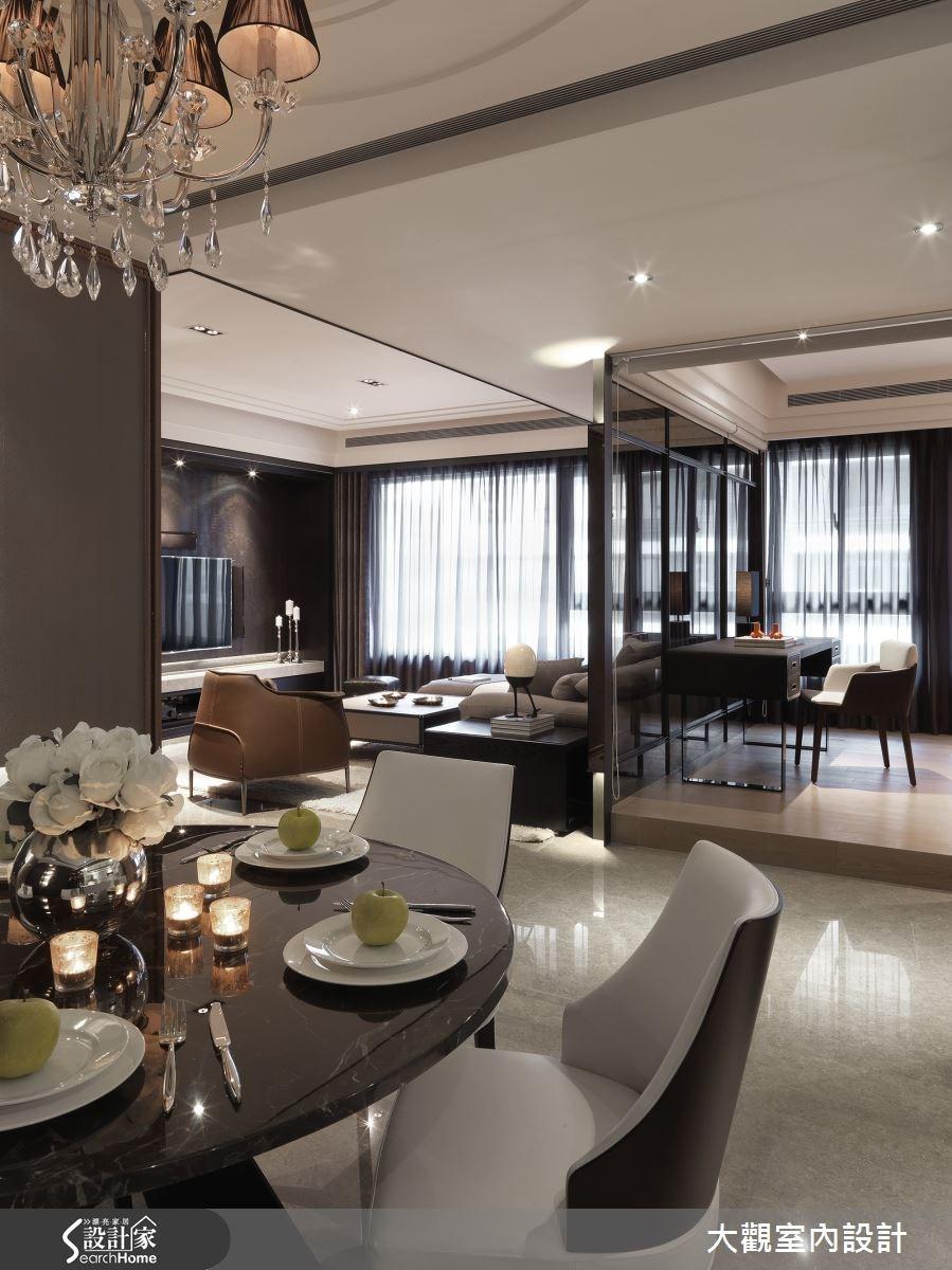40坪新成屋(5年以下)_現代風餐廳案例圖片_大觀室內設計工程有限公司_大觀_28之5