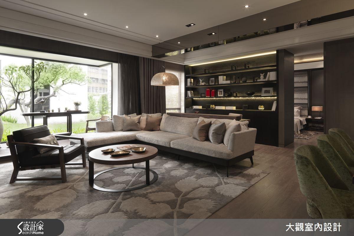 36坪預售屋_現代風客廳案例圖片_大觀室內設計工程有限公司_大觀_29之2