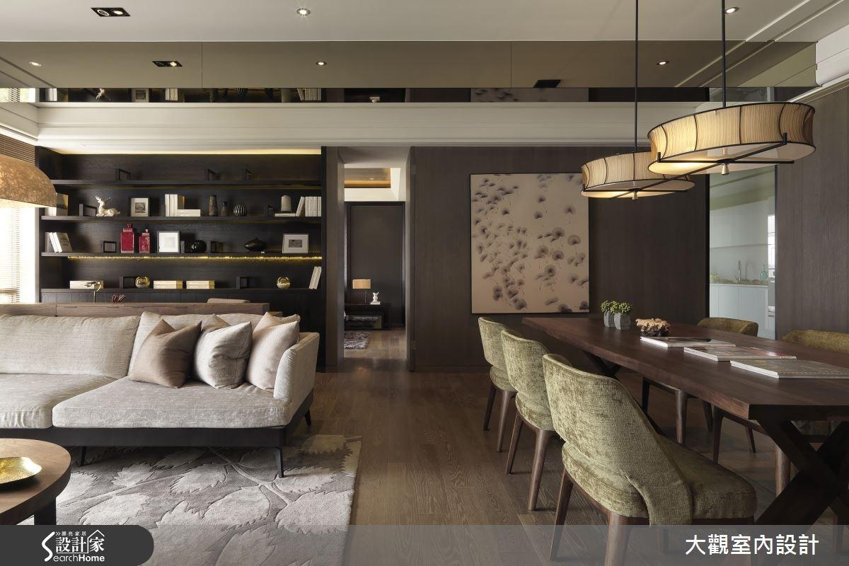 36坪預售屋_現代風客廳案例圖片_大觀室內設計工程有限公司_大觀_29之3