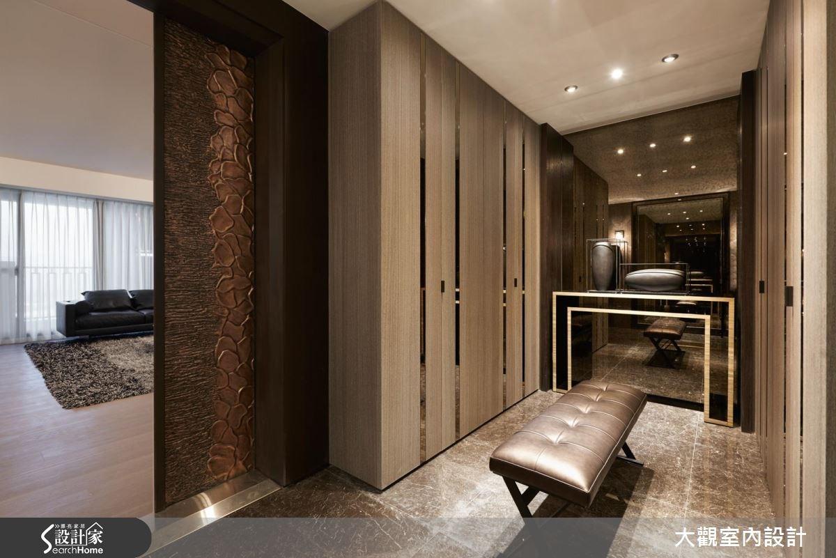 70坪新成屋(5年以下)_現代風玄關案例圖片_大觀室內設計工程有限公司_大觀_31之1