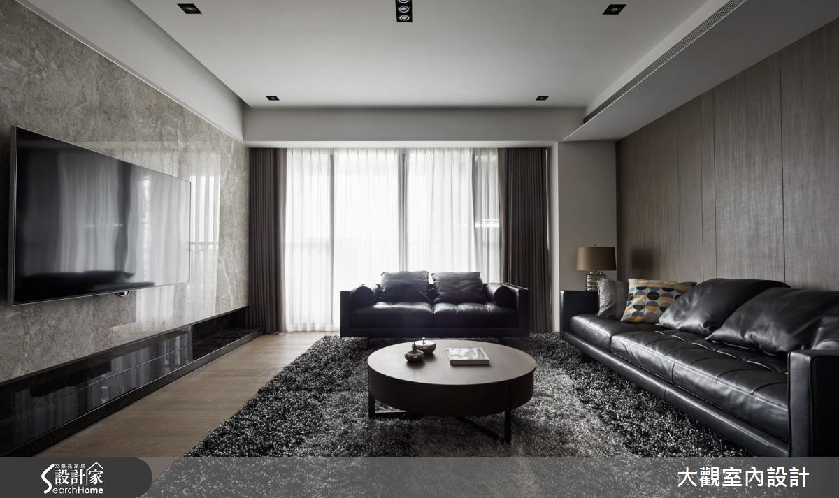 70坪新成屋(5年以下)_現代風客廳案例圖片_大觀室內設計工程有限公司_大觀_31之3