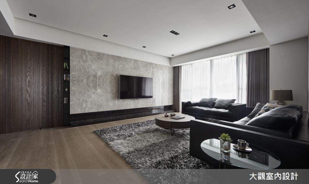 70坪新成屋(5年以下)_現代風客廳案例圖片_大觀室內設計工程有限公司_大觀_31之4