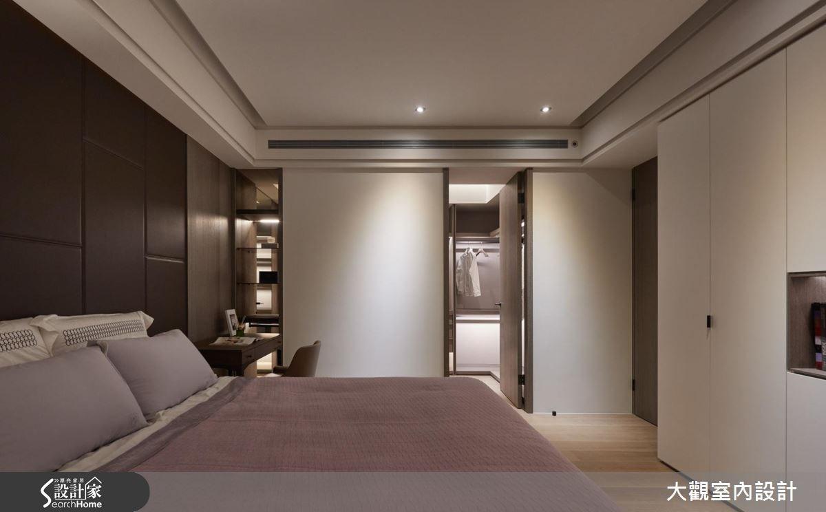 70坪新成屋(5年以下)_現代風臥室更衣間案例圖片_大觀室內設計工程有限公司_大觀_31之11