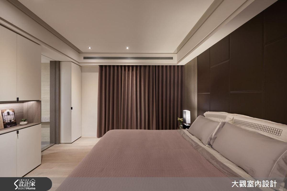 70坪新成屋(5年以下)_現代風臥室案例圖片_大觀室內設計工程有限公司_大觀_31之12