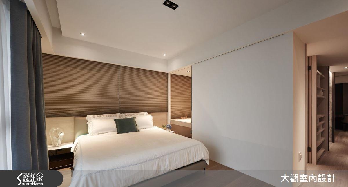 70坪新成屋(5年以下)_現代風臥室案例圖片_大觀室內設計工程有限公司_大觀_31之13