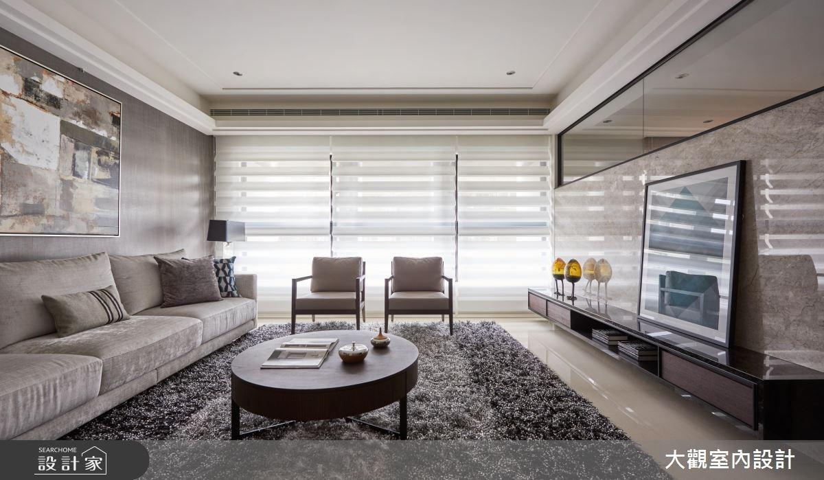 46坪新成屋(5年以下)_現代風客廳案例圖片_大觀室內設計工程有限公司_大觀_32之1