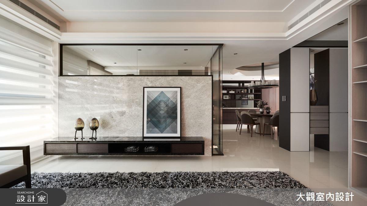 46坪新成屋(5年以下)_現代風客廳餐廳案例圖片_大觀室內設計工程有限公司_大觀_32之2