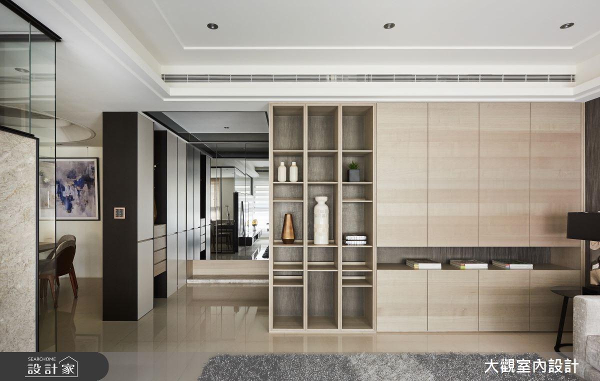 46坪新成屋(5年以下)_現代風客廳案例圖片_大觀室內設計工程有限公司_大觀_32之4