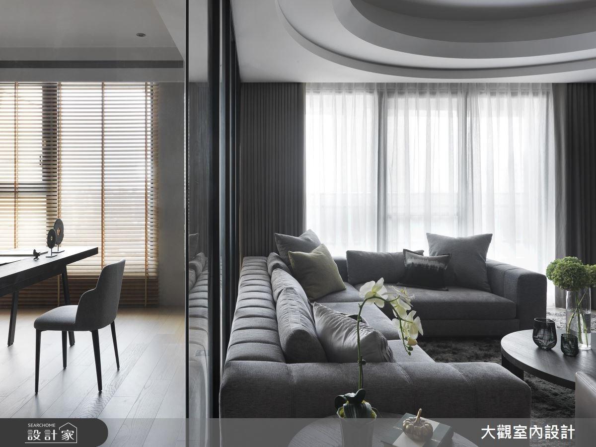 43坪新成屋(5年以下)_人文禪風客廳書房案例圖片_大觀室內設計工程有限公司_大觀_34之4