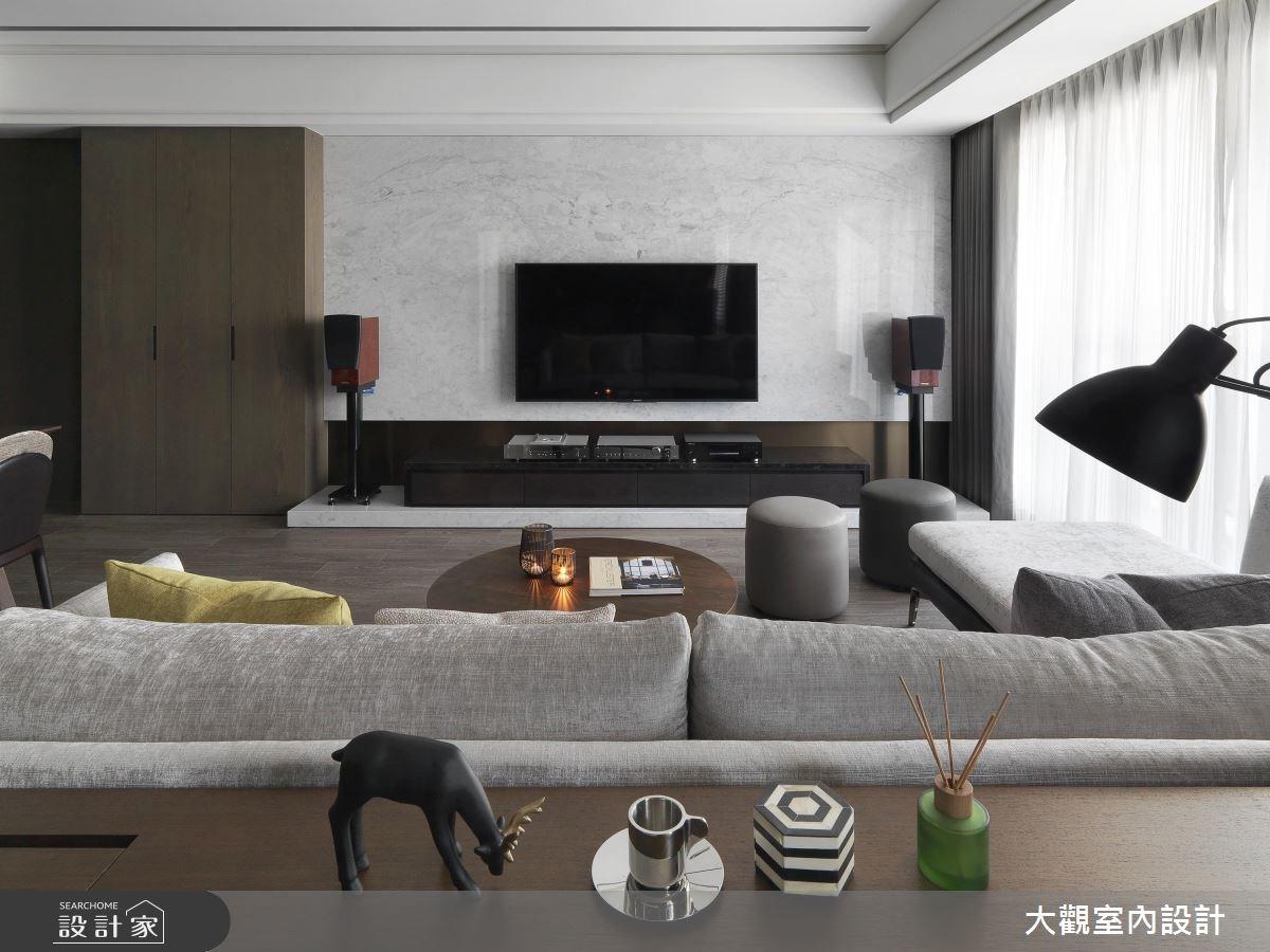 34坪新成屋(5年以下)_現代風客廳案例圖片_大觀室內設計工程有限公司_大觀_37之6