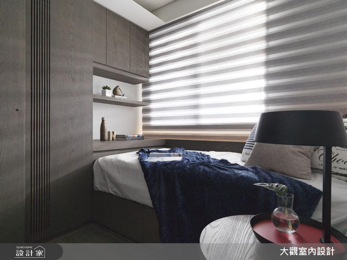 34坪新成屋(5年以下)_現代風臥室案例圖片_大觀室內設計工程有限公司_大觀_37之9
