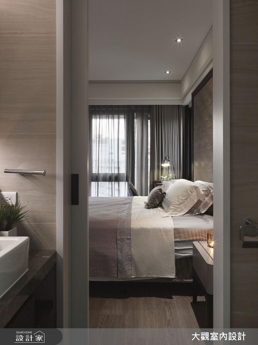 34坪新成屋(5年以下)_現代風臥室案例圖片_大觀室內設計工程有限公司_大觀_37之11