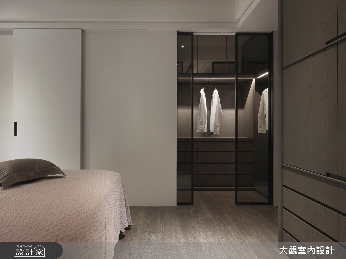 34坪新成屋(5年以下)_現代風臥室更衣間案例圖片_大觀室內設計工程有限公司_大觀_37之12