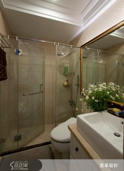 52坪預售屋_美式風浴室案例圖片_昱承室內裝修設計_昱承_01之15