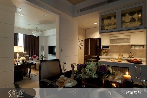 55坪新成屋(5年以下)_新古典餐廳案例圖片_昱承室內裝修設計_昱承_07之4