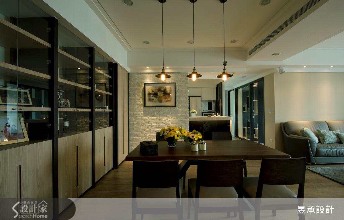 60坪新成屋(5年以下)_現代風餐廳案例圖片_昱承室內裝修設計_昱承_20之1