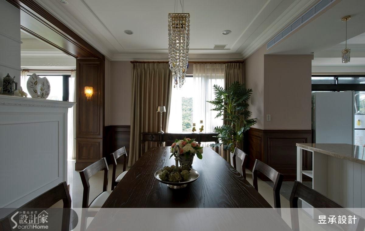 150坪新成屋(5年以下)_美式風餐廳案例圖片_昱承室內裝修設計_昱承_21之4