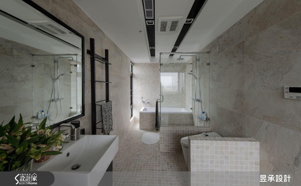 67坪中古屋(5~15年)_工業風浴室案例圖片_昱承室內裝修設計_昱承_33之14