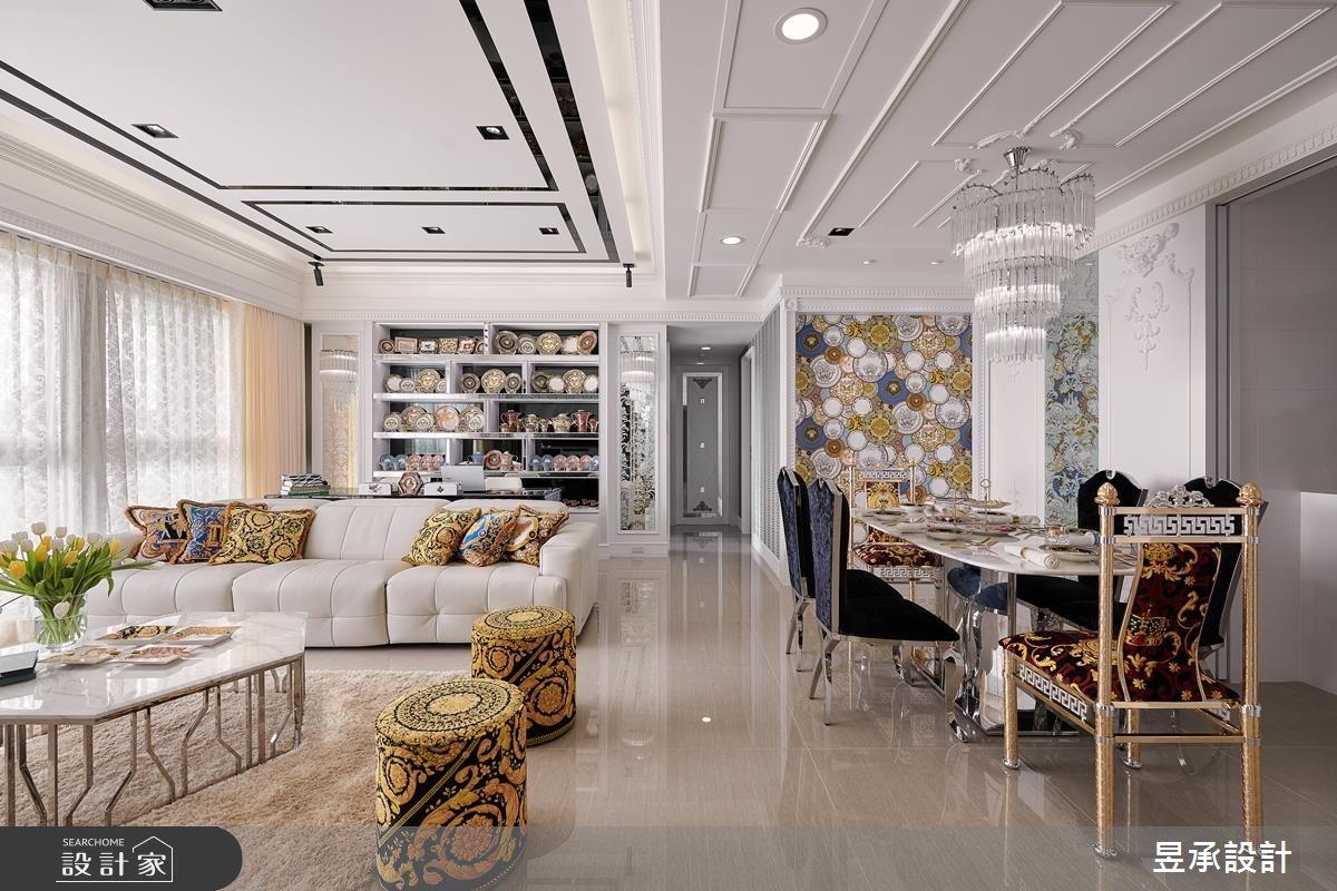 細節、材質的精緻呈現! 60 坪新古典大宅的華麗進擊!