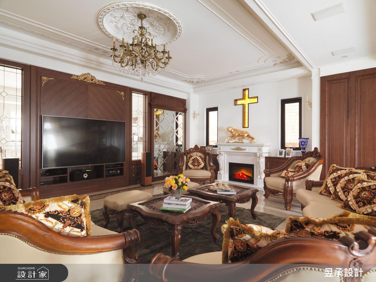 皇宮等級古典風!親朋好友一致讚賞:「新家太美了!」