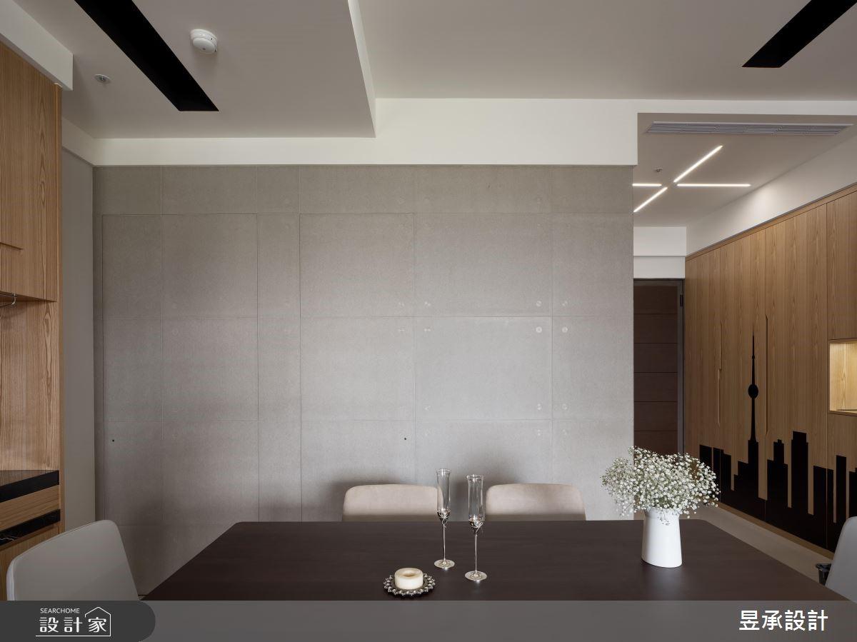 24坪新成屋(5年以下)_現代風餐廳案例圖片_昱承室內裝修設計_昱承_44之4