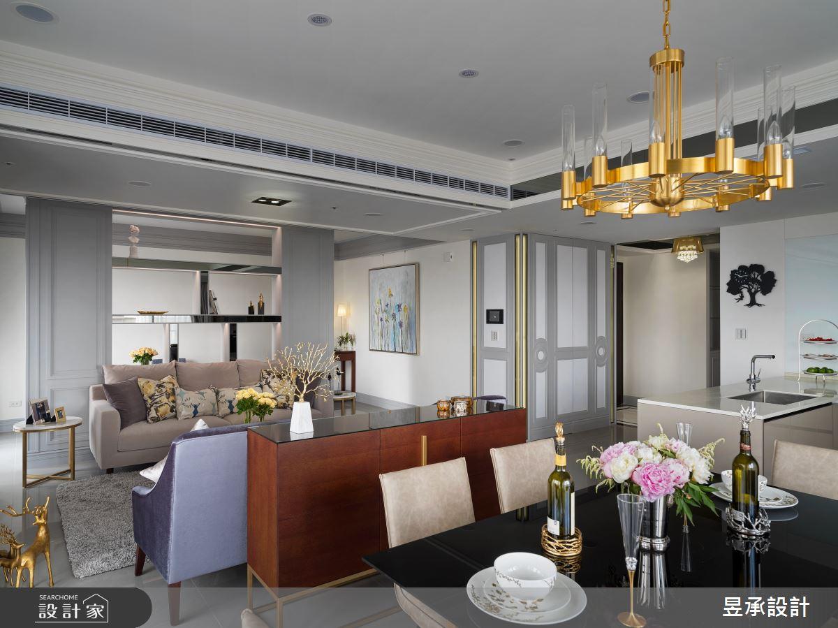 新成屋(5年以下)_美式風餐廳案例圖片_昱承室內裝修設計_昱承_46之3
