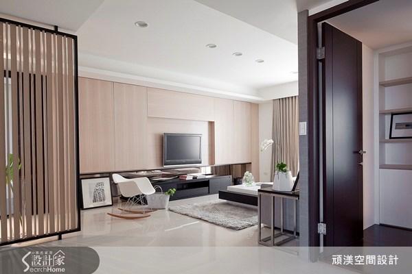 30坪新成屋(5年以下)_北歐風客廳案例圖片_頑渼空間設計_頑渼_06之1