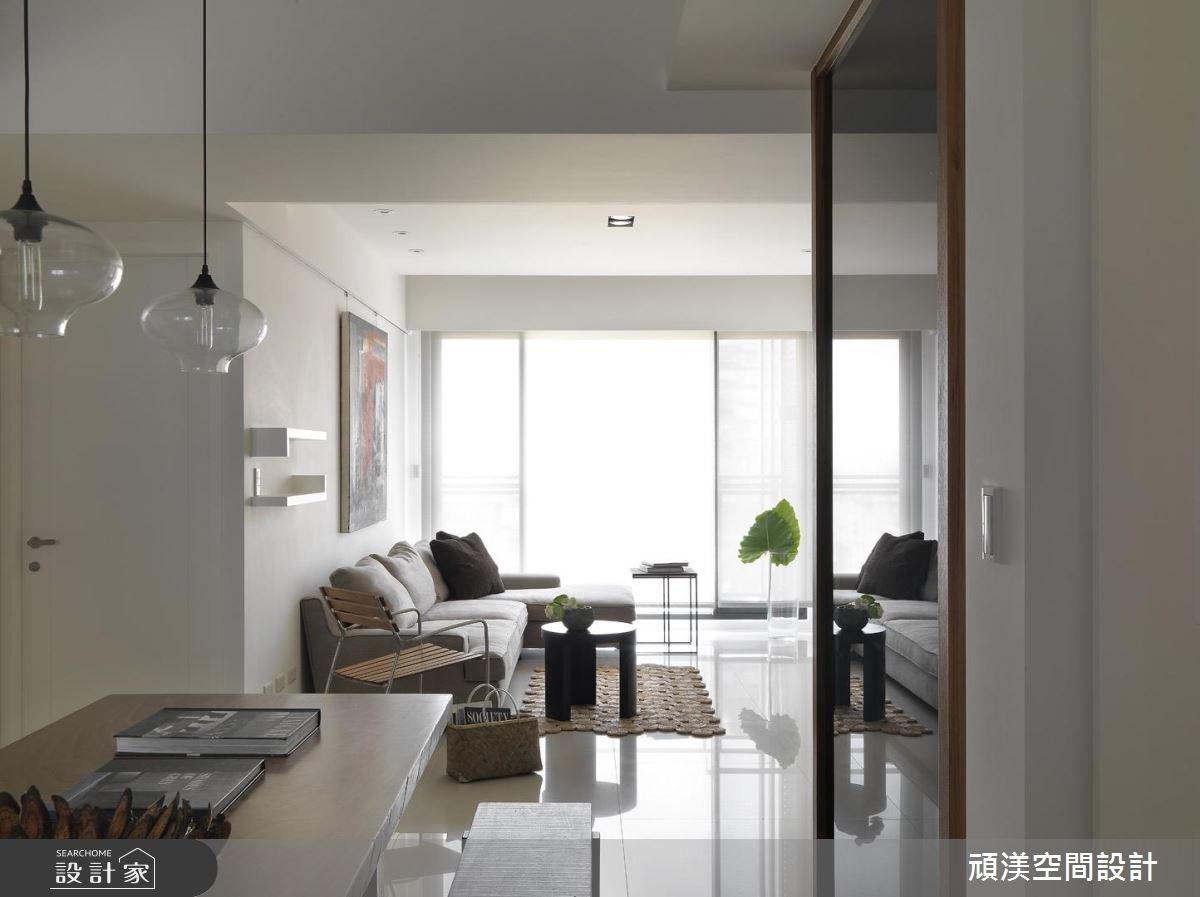 30坪新成屋(5年以下)_北歐風客廳案例圖片_頑渼空間設計_頑渼_07之4