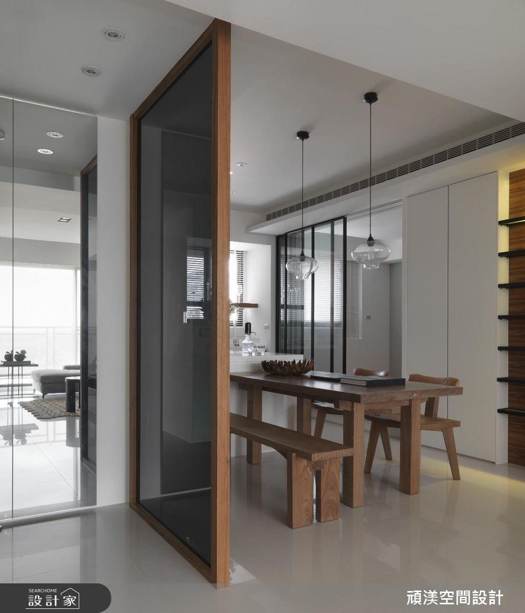 30坪新成屋(5年以下)_北歐風玄關客廳案例圖片_頑渼空間設計_頑渼_07之8