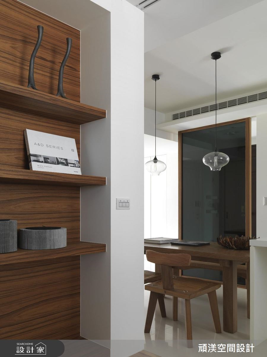 30坪新成屋(5年以下)_北歐風餐廳臥室案例圖片_頑渼空間設計_頑渼_07之6