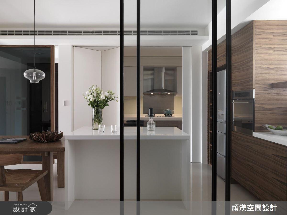 30坪新成屋(5年以下)_北歐風餐廳廚房案例圖片_頑渼空間設計_頑渼_07之13
