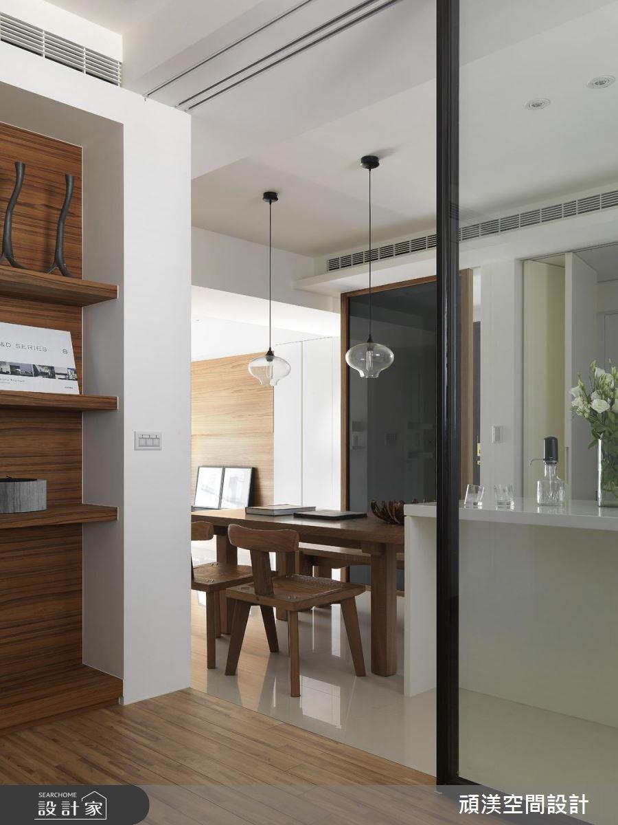 30坪新成屋(5年以下)_北歐風餐廳和室案例圖片_頑渼空間設計_頑渼_07之5