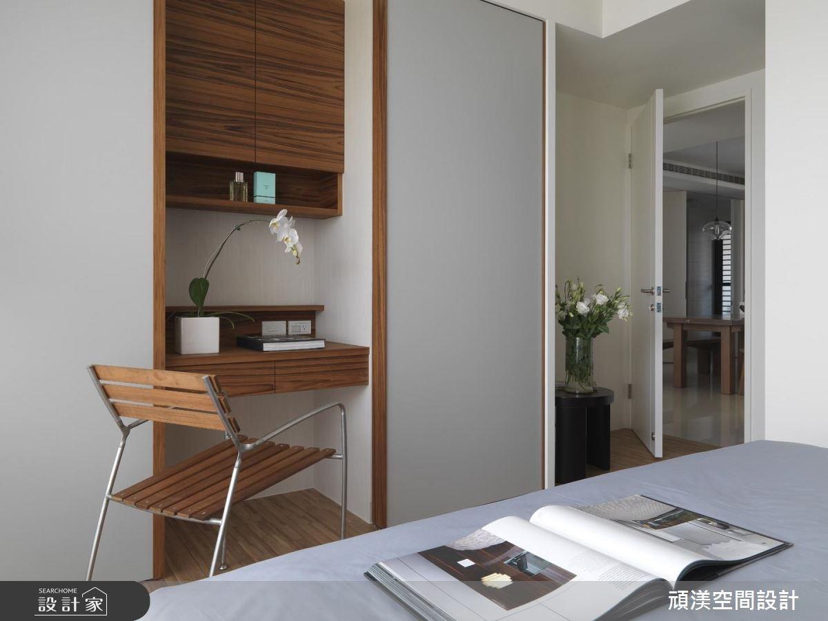 30坪新成屋(5年以下)_北歐風臥室案例圖片_頑渼空間設計_頑渼_07之14