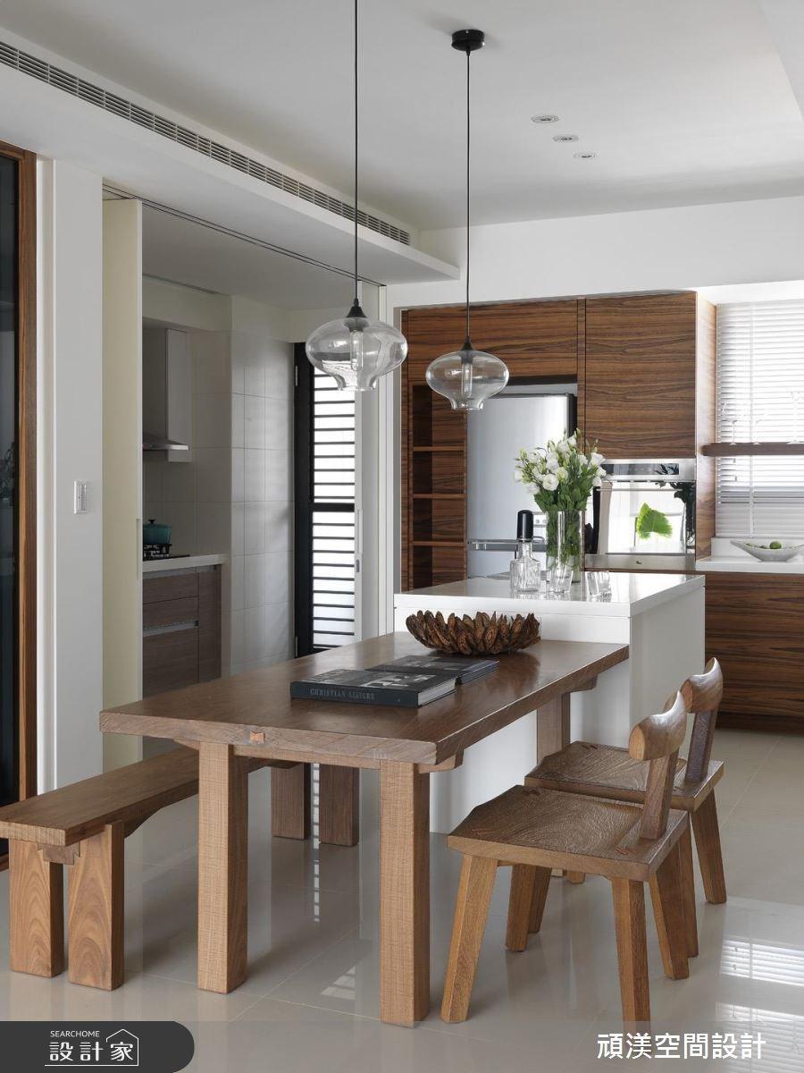 30坪新成屋(5年以下)_北歐風餐廳廚房案例圖片_頑渼空間設計_頑渼_07之9