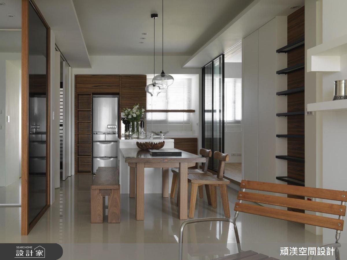30坪新成屋(5年以下)_北歐風餐廳案例圖片_頑渼空間設計_頑渼_07之10