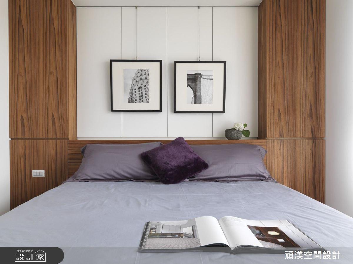 30坪新成屋(5年以下)_北歐風臥室案例圖片_頑渼空間設計_頑渼_07之15