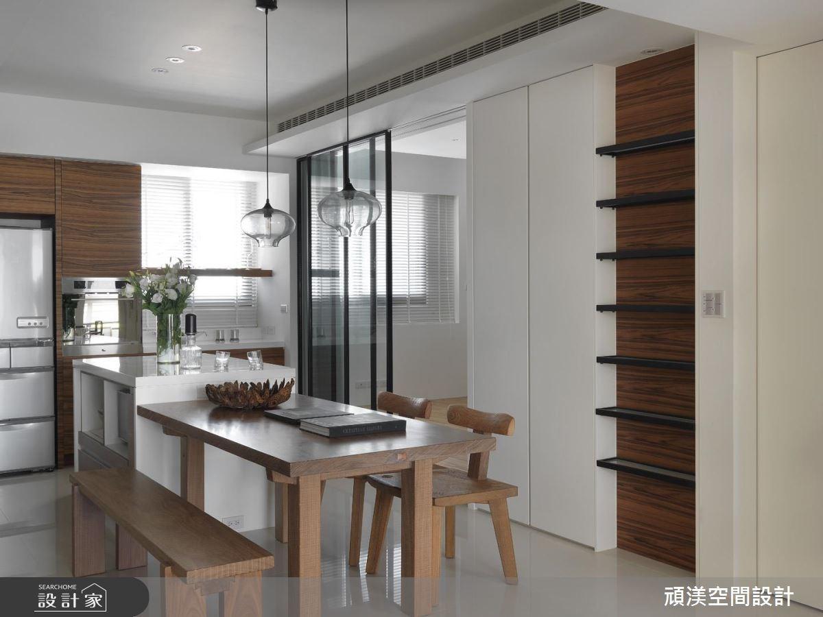 30坪新成屋(5年以下)_北歐風餐廳和室案例圖片_頑渼空間設計_頑渼_07之11