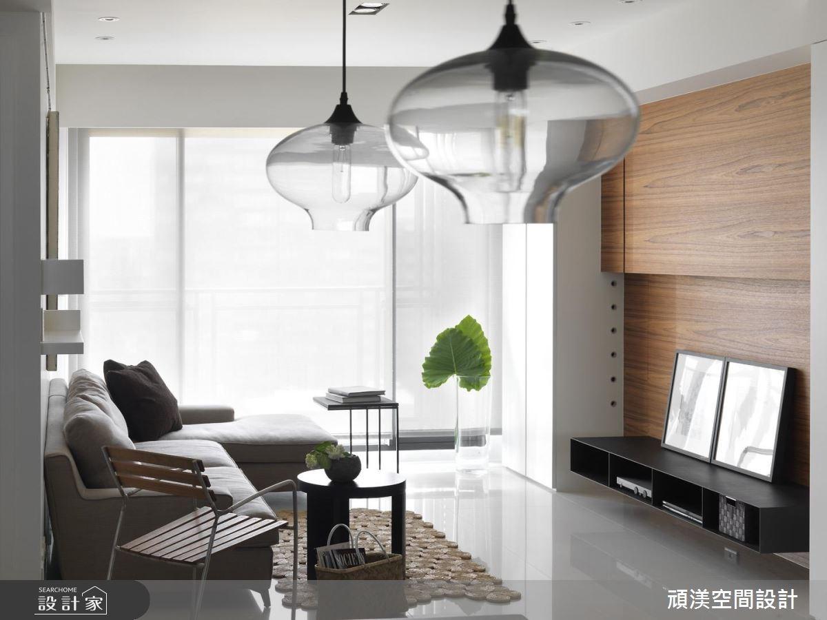 30坪新成屋(5年以下)_北歐風客廳案例圖片_頑渼空間設計_頑渼_07之2