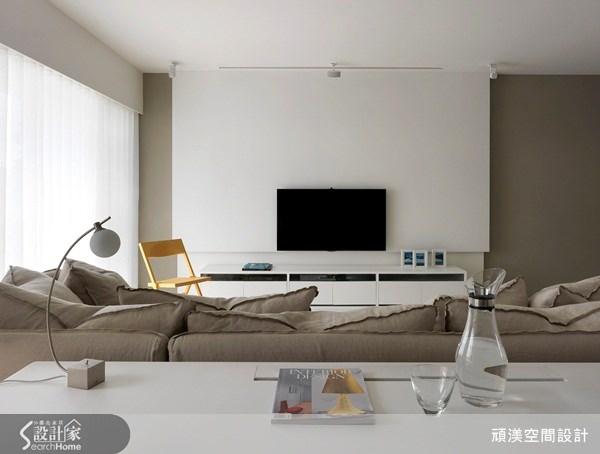 45坪新成屋(5年以下)_北歐風客廳案例圖片_頑渼空間設計_頑渼_09之1