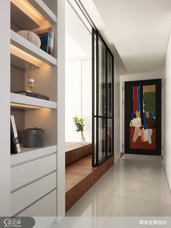 40坪新成屋(5年以下)_北歐風走廊案例圖片_頑渼空間設計_頑渼_10之1