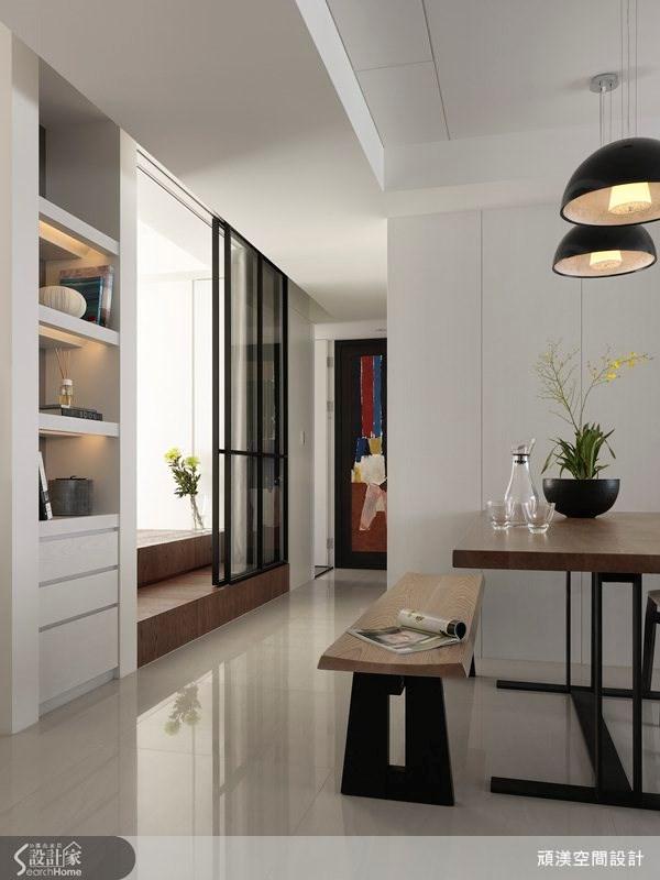 40坪新成屋(5年以下)_北歐風餐廳走廊案例圖片_頑渼空間設計_頑渼_10之2