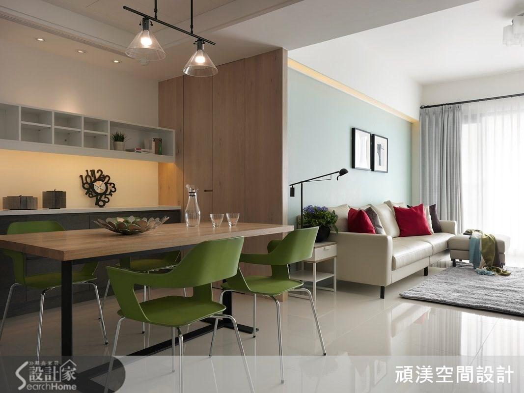 40坪新成屋(5年以下)_北歐風餐廳案例圖片_頑渼空間設計_頑渼_11之3