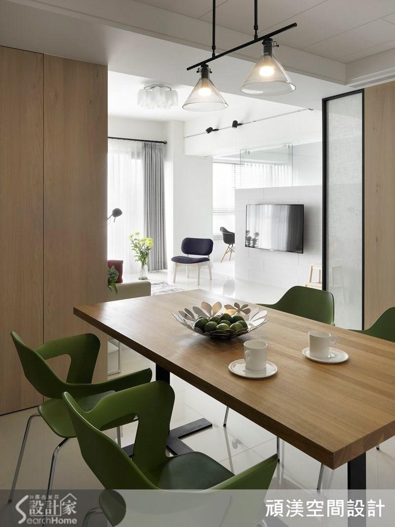 40坪新成屋(5年以下)_北歐風餐廳案例圖片_頑渼空間設計_頑渼_11之2