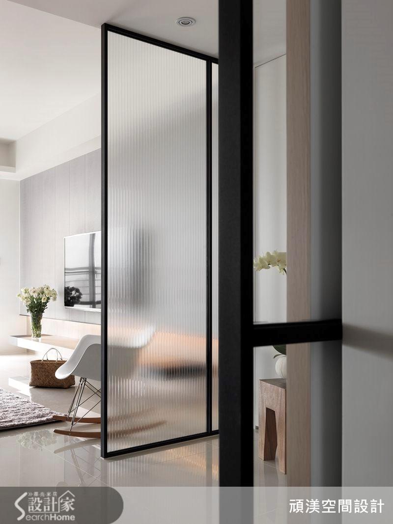 40坪新成屋(5年以下)_北歐風玄關案例圖片_頑渼空間設計_頑渼_12之3