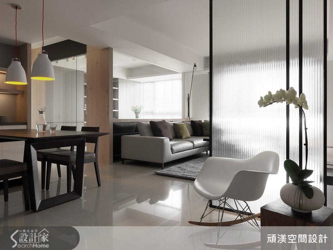 40坪新成屋(5年以下)_北歐風客廳案例圖片_頑渼空間設計_頑渼_12之2